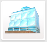 Frp Rectangular Shape Cooling Towers